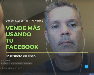 Vende más usando tu Facebook